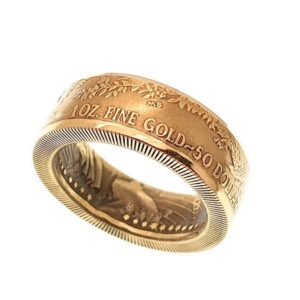 USA Eagle Muntring 1OZ goud
